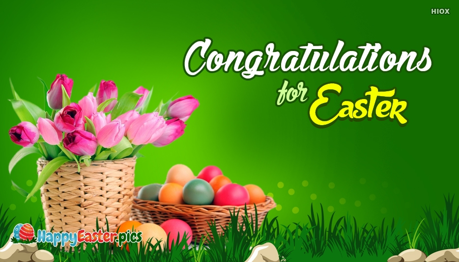 Congratulations for Easter - Happy Easter Images for Everyone