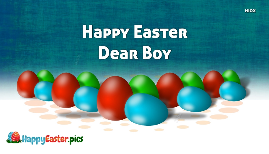 Happy Easter Boy Images