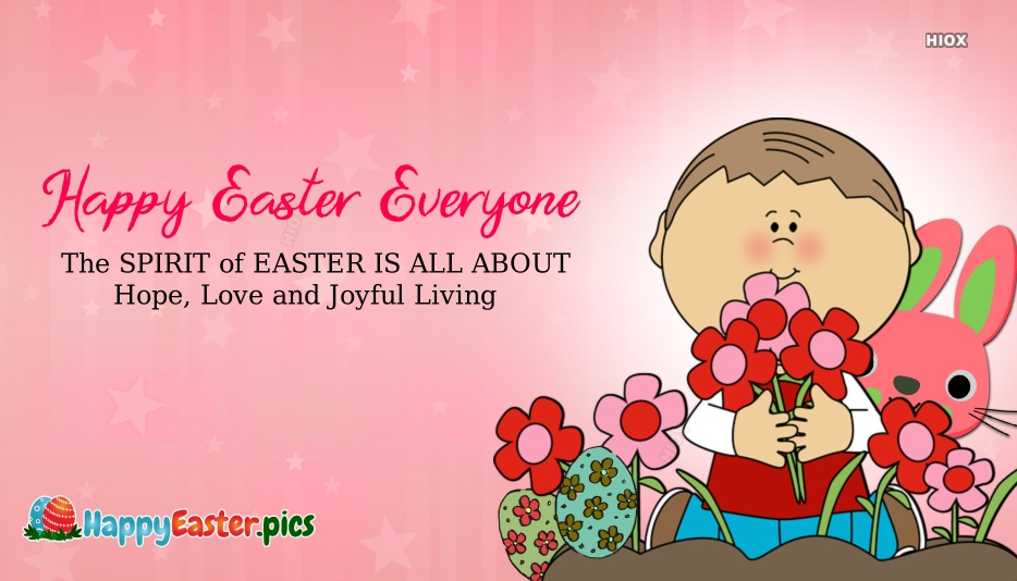 Easter Wishes for Kids
