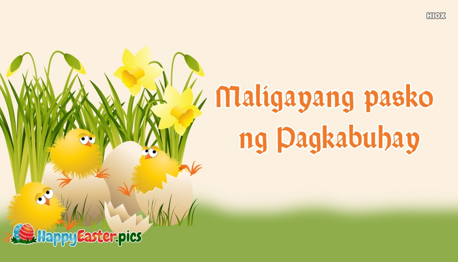 Happy Easter In Filipino Language