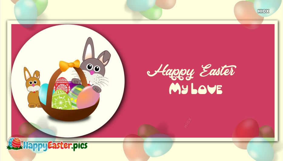 Happy Easter Hubby Images
