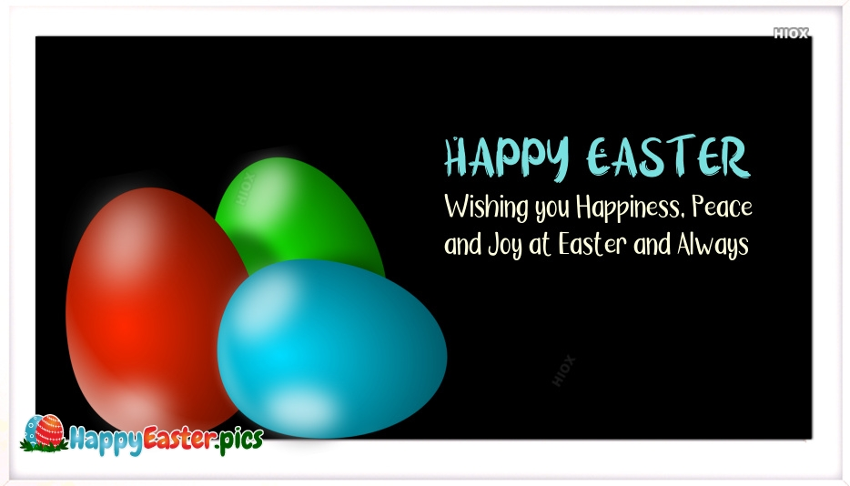 Happy Easter SMS Images