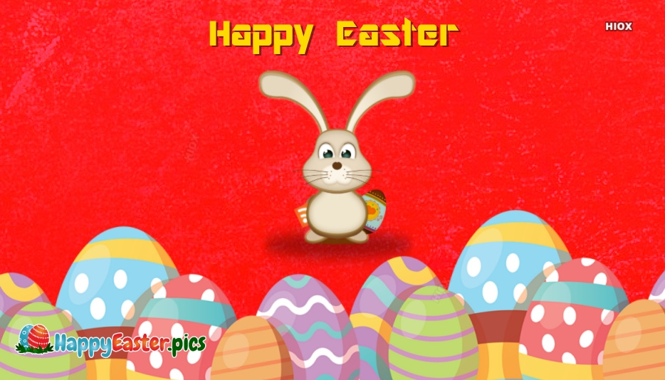 Happy Easter Red