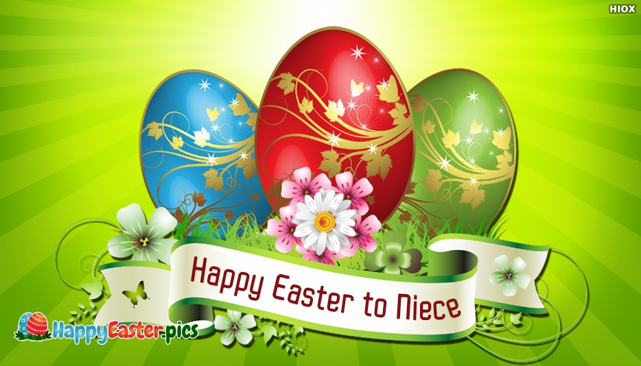 Happy Easter to Niece - Happy Easter Egg Images