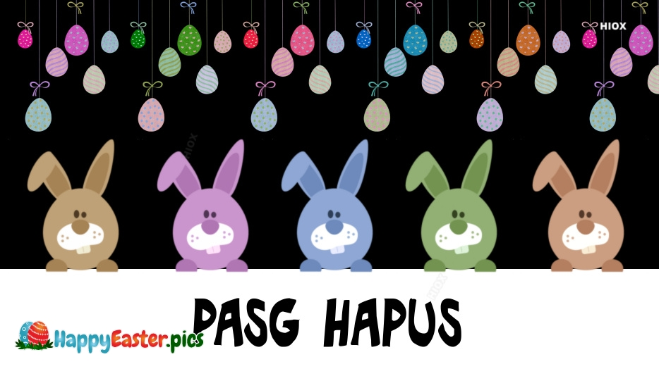Happy Easter Welsh | Pasg Hapus