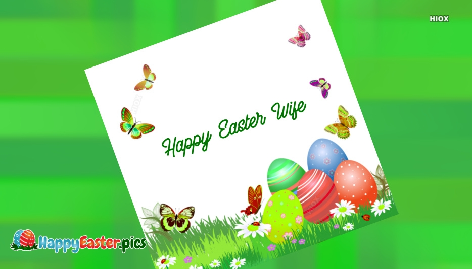 Happy Easter Wishes For Her