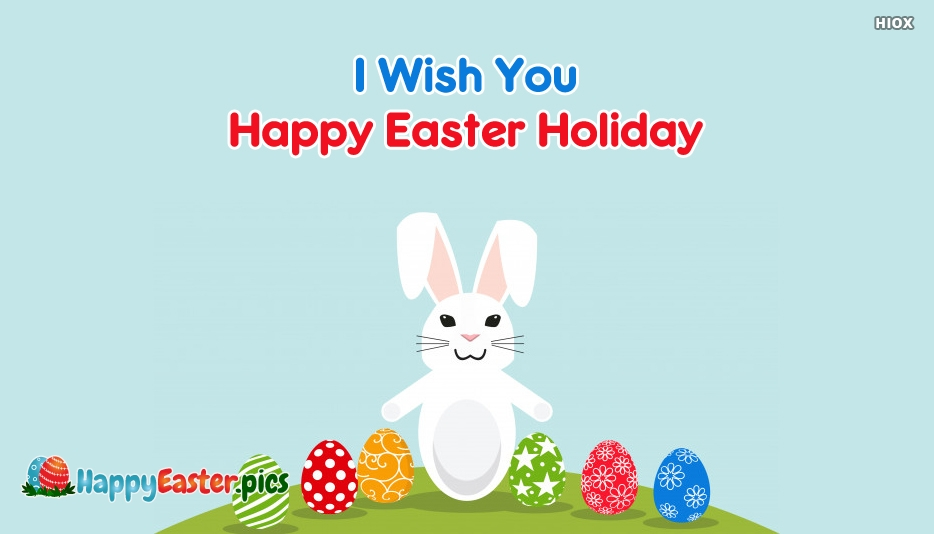 Happy Easter Holidays Images
