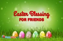 Easter Blessing For Friends