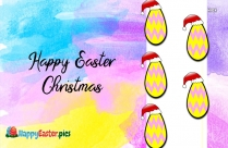 Happy Easter Christmas