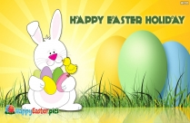 Happy Easter Holiday Message