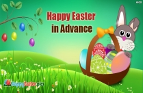 Happy Easter In Advance Image