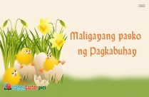 Happy Easter In Tagalog