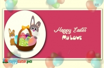 Happy Easter My Love Image