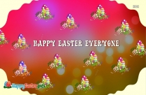 Happy Easter To Everyone