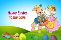 Happy Easter Images for Lover