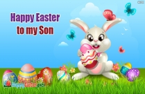 Happy Easter To My Son Image