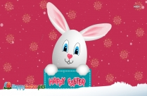 Happy Easter Bunny Clipart