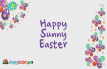 Happy Sunny Easter