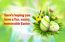 Have A Fun, Memorable Easter.