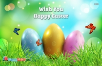 Wish You Happy Easter Message