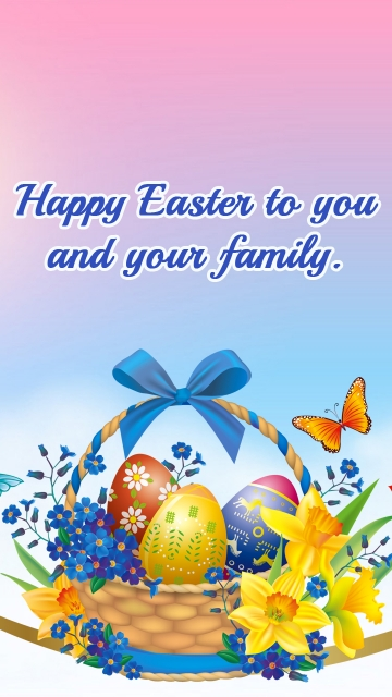 Happy Easter To You and Your Family.