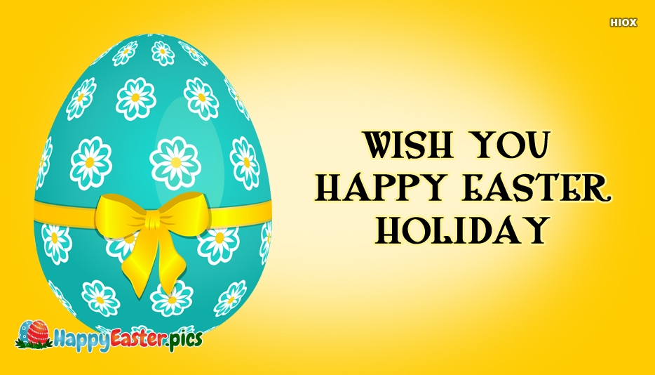 happy easter holidays pictures