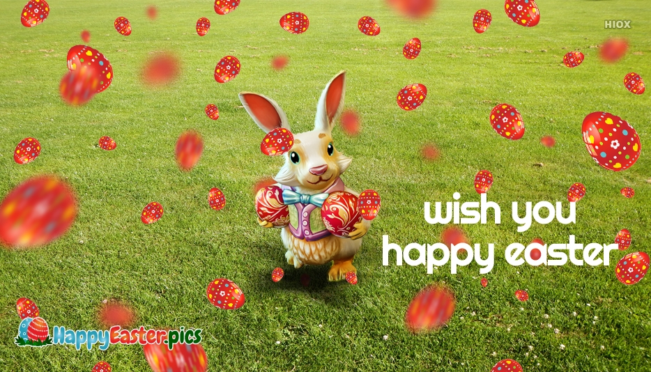 Wish You Happy Easter Sms