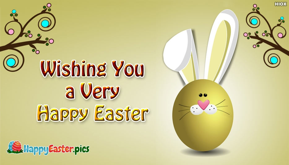 Happy Easter Greetings To Family And Friends